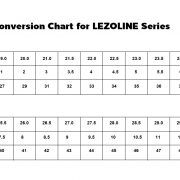 SHOES-SIZE-ตารางเทียบไซส์รองเท้า LEZOLINE JL II